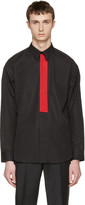 Givenchy Black Red Band Shirt