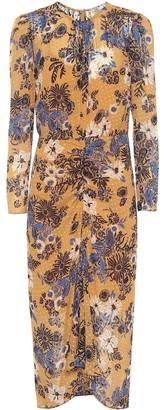 Veronica Beard Raylee floral silk-blend midi dress