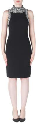 Joseph Ribkoff Crystal Neck Dress