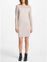 Marc Cain Knitted Metallic Dress, Sandstone