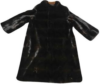 Lanvin Brown Mink Coat for Women