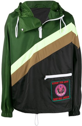 Diesel Reversible Colour-Block Jacket