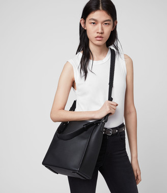 AllSaints Kita Leather Crossbody Bag