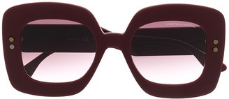 Bottega Veneta Oversized-Frame Sunglasses