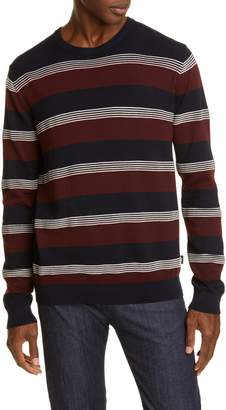 Emporio Armani Stripe Crewneck Sweater