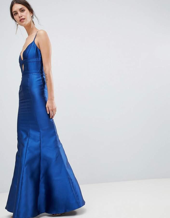 becef770 Fishtail Maxi Dress - ShopStyle UK