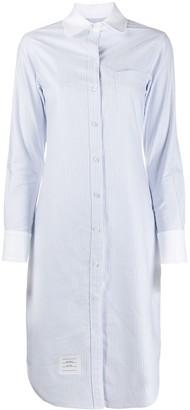 Thom Browne Striped Shirt Dress