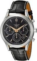 Longines Men's L27504560 Analog Display Automatic Self Wind Watch