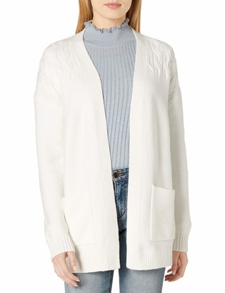 Lucky Brand Women's Venice Cable Cardigan Sweater
