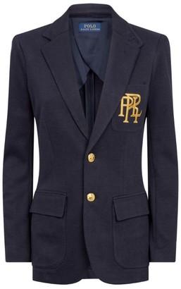 Ralph Lauren Knitted Cotton Blazer