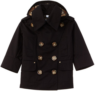 Burberry Detachable Hood Showerproof Trench Coat