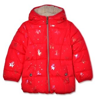 Limited Too Toddler Girls Unicorn Printed Winter Jacket Coat