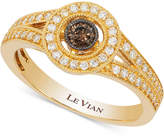 LeVian Le Vian Deco Estate CollectionTM Diamond Ring (3/8 ct. t.w.) in 14k Gold