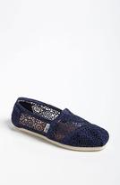 Toms 'Classic' Crochet Slip-On (Women)