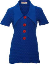 Marni Graphic Tuck Knit Tunic