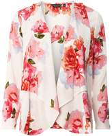 Dorothy Perkins Ivory and Pink Floral Cover Up