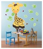 BuySeasons Giraffe Giant Wall Decal