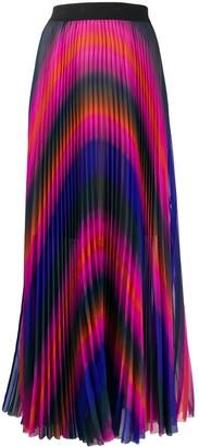 Escada Sport Pleated Maxi Skirt