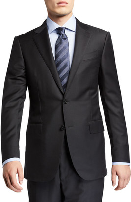 Ermenegildo Zegna Men's Trofeo Milano Two-Piece Wool Regular-Fit Suit