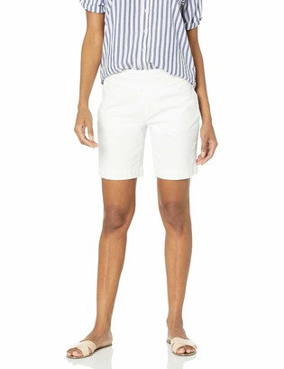 "Jag Jeans Women's Ainsley Pull On 8"" Short in Bay Twill"