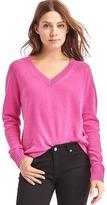 Gap Wool- cashmere blend V-neck sweater