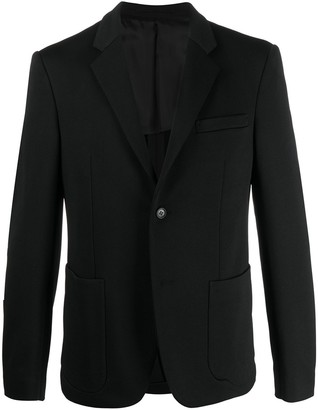 Prada Patch Pocket Single-Breasted Suit Jacket