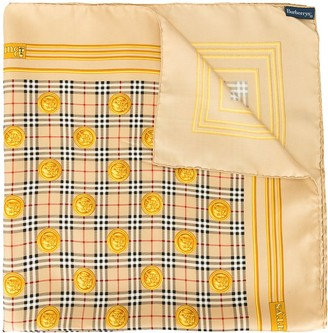 Burberry Pre-Owned House Check Print Scarf