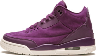 Jordan Wmns Air 3 Retro 'Bordeaux' Shoes - Size 11W