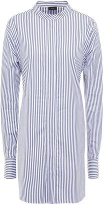 Joseph Striped Cotton-poplin Tunic