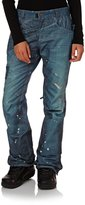 686 Womens Deconstructed Denim Insulated Snow Pant