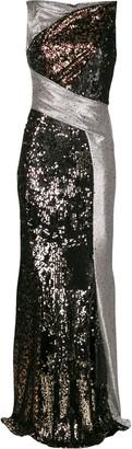 Talbot Runhof Torpedo gown