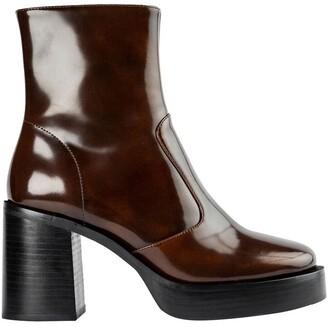 Tony Bianco Thunder Antique Rub Ankle Boots