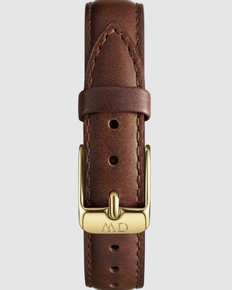 Daniel Wellington Leather Strap Petite 12 St Mawes Watch Band - For Petite 28mm