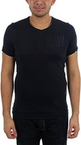 G Star G-Star Men's Art Shortsleeve V-Nevk Tee In Cool Rib