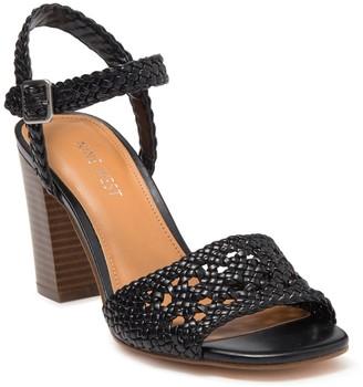 Nine West Tinsley Woven Block Heel Sandal