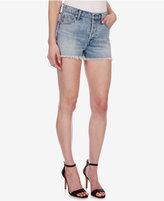 Lucky Brand Aline Cotton Embroidered Denim Shorts