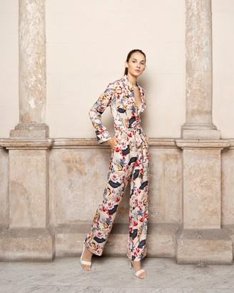 Adriana Iglesias Theodore Long Sleeve Jumpsuit
