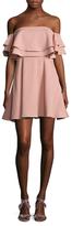 Keepsake Serenity Tiered Mini Dress