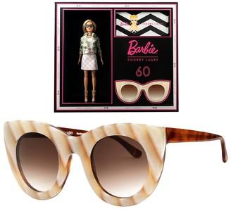 Thierry Lasry x barbie neutral cat eye sunglasses
