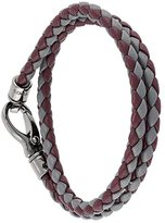 Tod's braided double bracelet