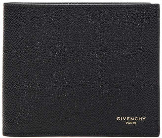 Givenchy Leather Billfold Wallet in Black | FWRD