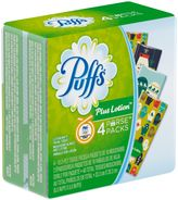 Puffs® Plus LotionTM 4-Pack Facial Tissue