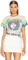 "MadeWorn The Doors ""Morrison"" Tie Dye Crew Tee in Lizard King 