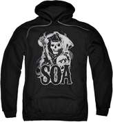 SOA Sons Of Anarchy Crime Drama Series Smokey Reaper Logo Adult Pull-Over Hoodie