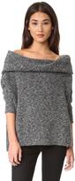 Bobi Off Shoulder Sweater