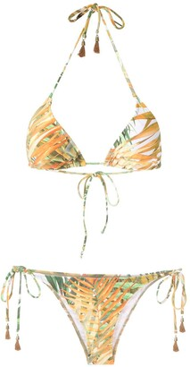 Lygia & Nanny Maya printed bikini set