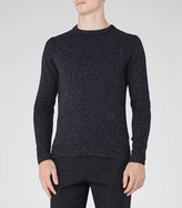Reiss Andrew Flecked Crew-Neck Jumper