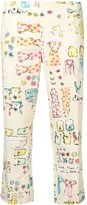Thumbnail for your product : Moschino Pre-Owned 2000's Printed Trousers