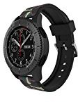 For Samsung Gear S3 Classic / Frontier,Sunfei Hot Sale Camouflage Sport Soft Silicone Replaceme Watch Band Strap (E)