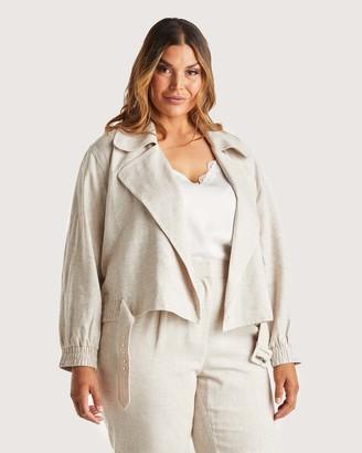 Estelle Women's Blazers - Huntington Jacket - Size One Size, 14 at The Iconic